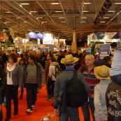 Beaucoup de monde dans les allées du 15e Salon de la Plongée.