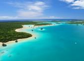 L'île des pins, qui compose l'archipel de la Nouvelle-Calédonie