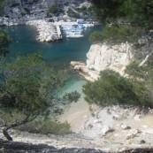 Calanque de Morgiou, près de Marseille