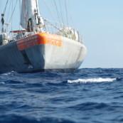 La goélette Tara en Méditerranée