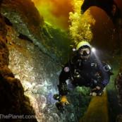 Plongeur spéléo à Ginnie Springs
