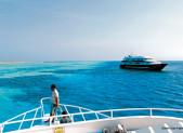 Bateau de plongée en mer Rouge