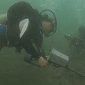 Des archéologues sous-marins en pleine recherche