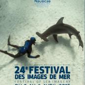 Affiche du 24e Festival des images de mer