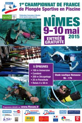 1er championnat de France de plongée sportive en piscine
