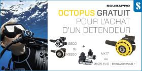 Offre octopus gratuit Scubapro