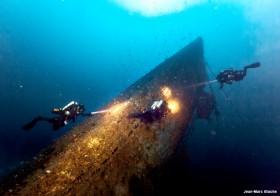 L'épave du sous-marin U-455