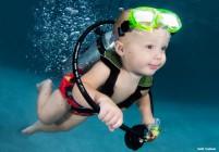 Bébé plongeur