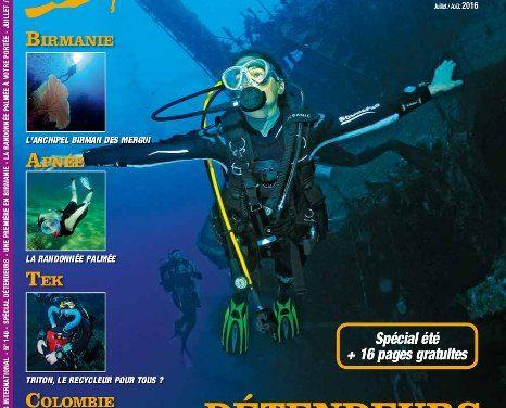 Le numéro 140 de Plongeurs International est sorti !