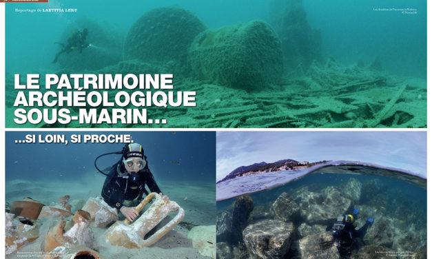 Plongeurs International n° 146 : Archéologie,  le patrimoine archéologique sous-marin !