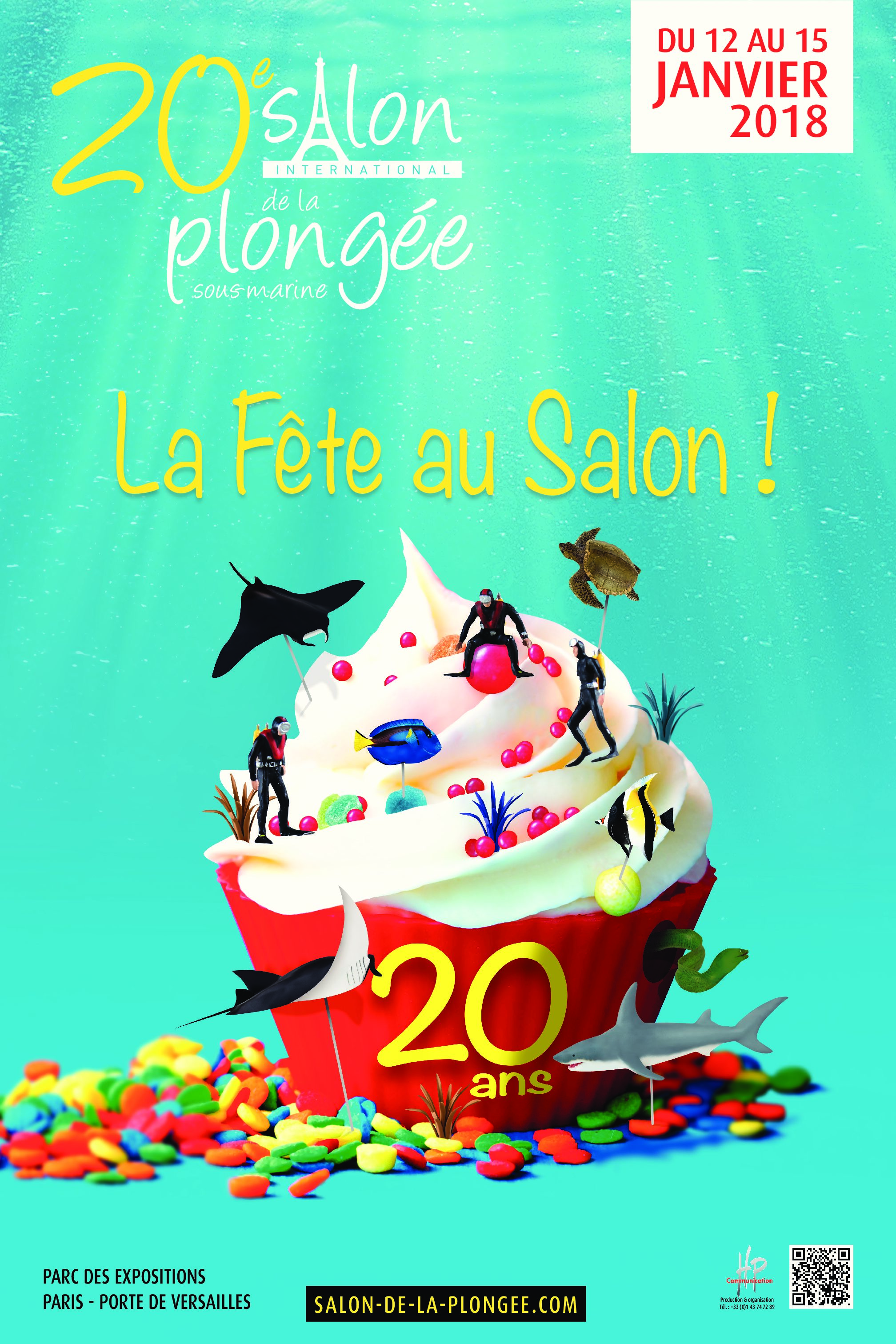 Salon de la plongée 2018 – 12 au 15 Janvier 2018 à Paris Porte de Versailles