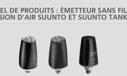 Rappel de produits: émetteur sans fil de pression d'air SUUNTO et SUUNTO Tank Pod
