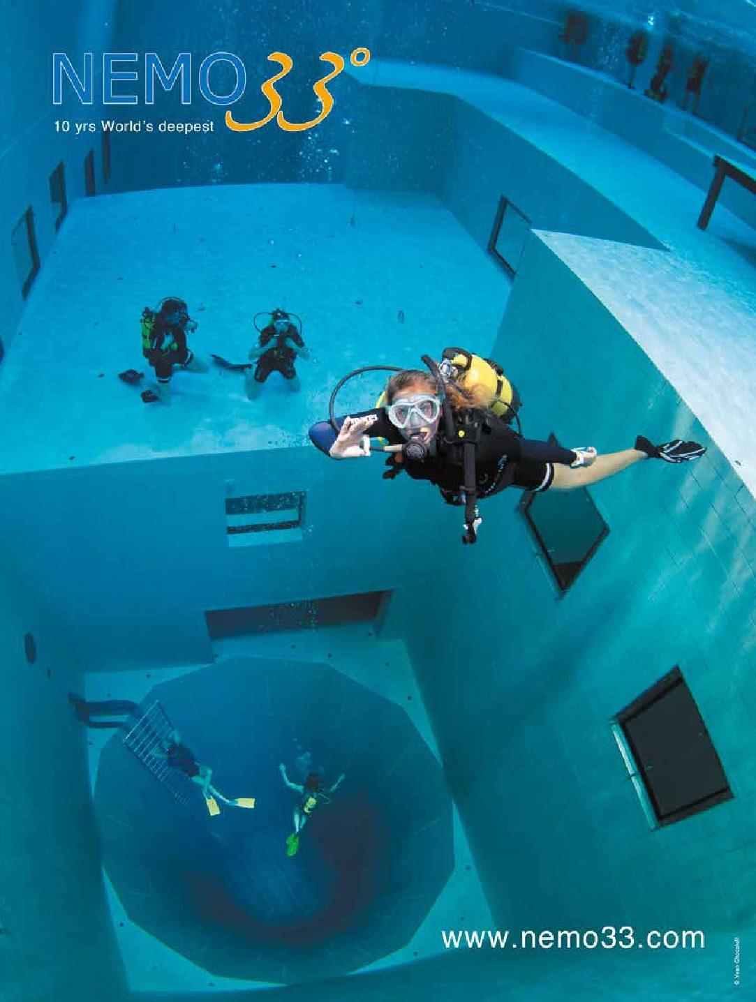 Nemo 33 recrute un responsable pour son école de plongée